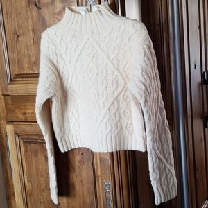 LIMITED AMERICA Cable Sweater